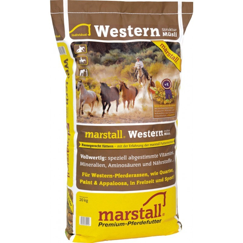 Marstall Western Struktur-Müsli 4250006300147 opinioni