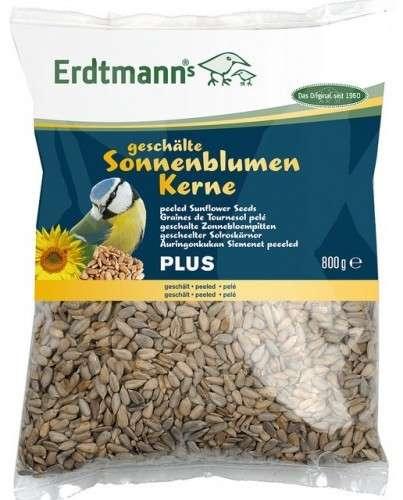 Erdtmann Geschälte Sonnenblumenkerne Plus 800 g