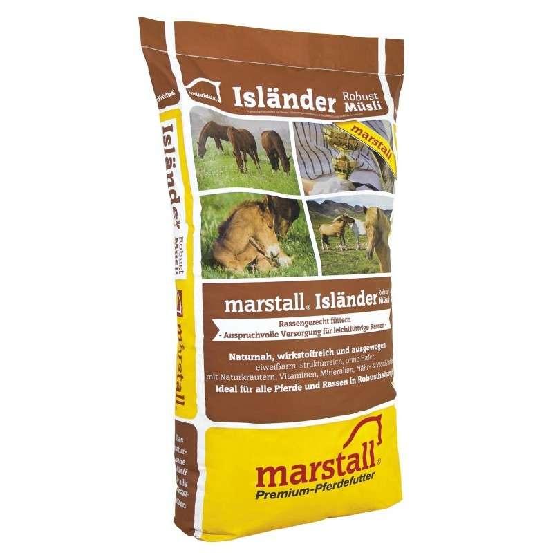 Marstall Isländer Robust-Müsli 20 kg 4250006303216 avis