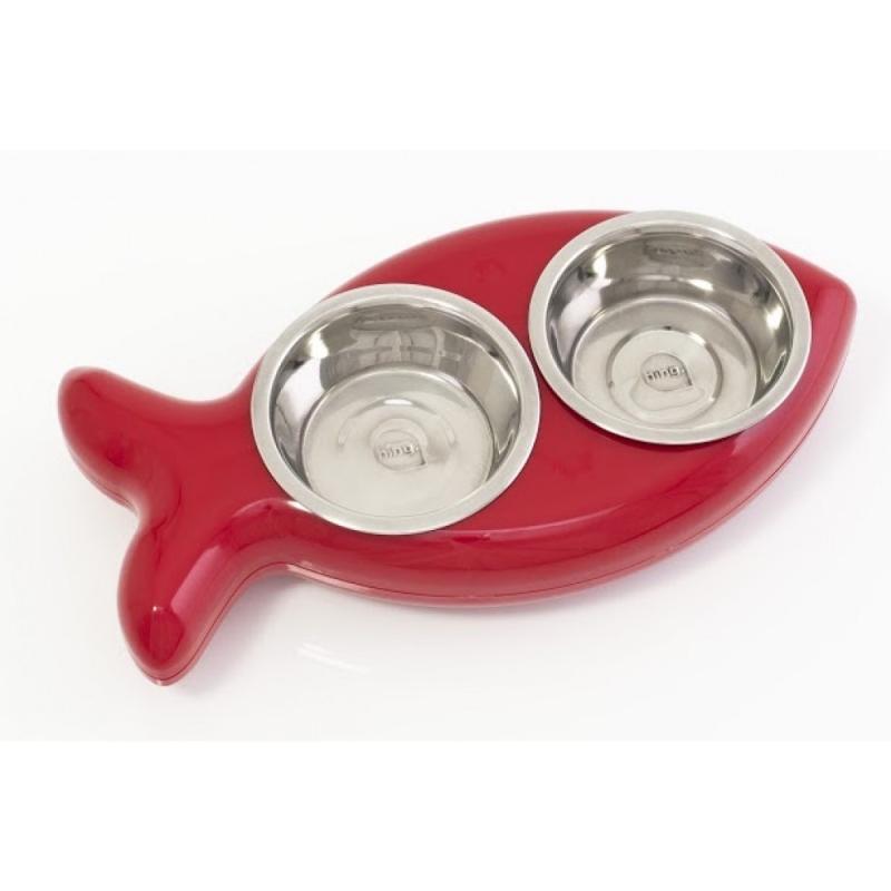 Hing Fish Bowl Cat  Röd