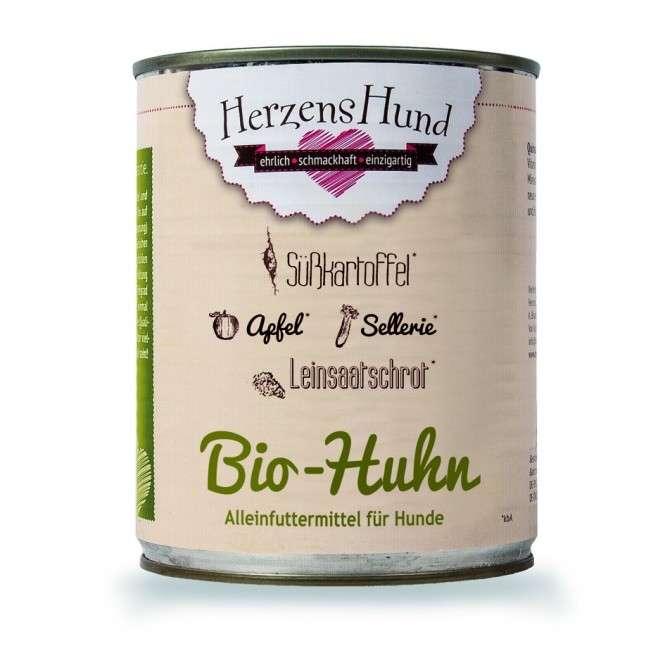 Herzens Hund Poulet bio + patate douce pour Chien 800 g 4260343400028 avis