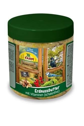 jr farm peanut pot erdnussbutter vitamine 400 g vitamine f r v gel. Black Bedroom Furniture Sets. Home Design Ideas