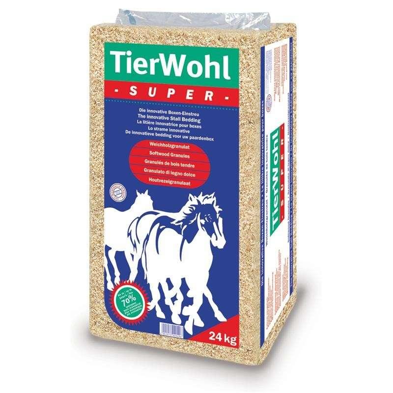 Tierwohl Super hestestrøelse 24 kg 4002973000496 anmeldelser