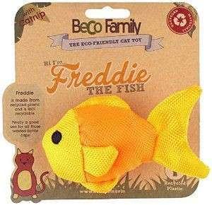 BeCo Pets Gioco Gatto Freddie il Pesciolino Giallo 5 cm acquista comodamente