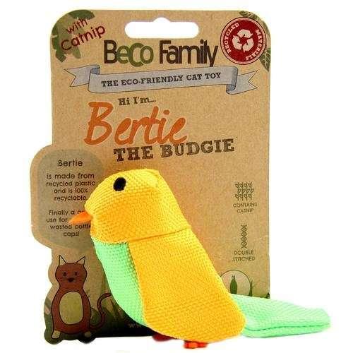 BeCo Pets Juguete para Gatos Budgie Pájaro 5 cm