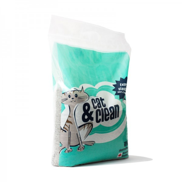 Cat & Clean Brilliant with Babypowder fragrance  10 kg Brilliant  order cheap
