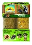JR Farm Garden Peanut Bar 2er Pack Nüsse und Holunder 700 g
