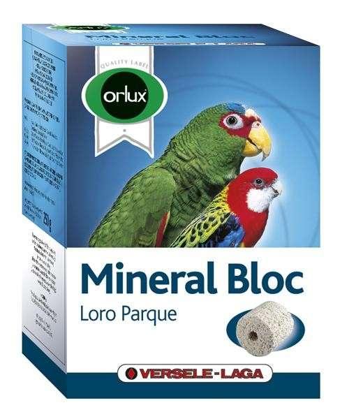 Versele Laga Orlux Mineral Bloc Loro Parque 400 g kjøp billig med rabatt