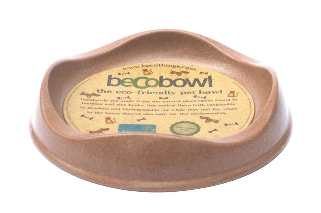 BeCo Pets Cat bowl, brown  Taupe 250 ml