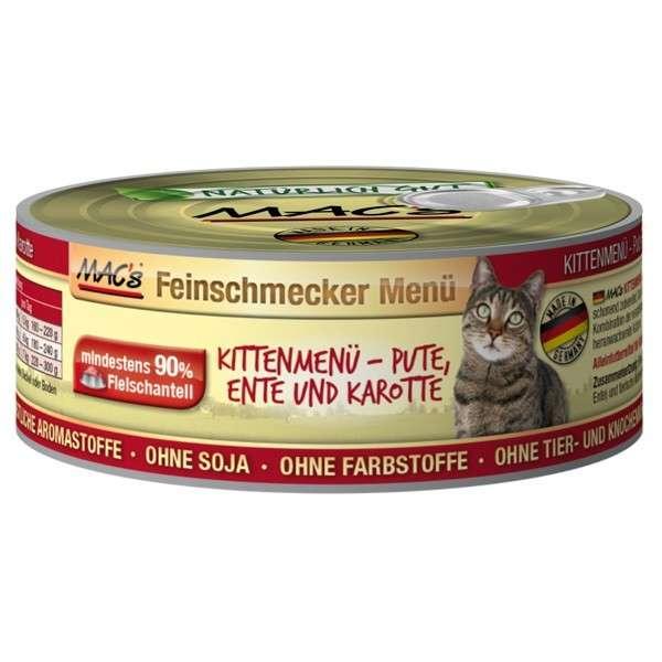 Feinschmecker Kitten - Turkey, Duck & Carrot, Canned by MAC's 100 g buy