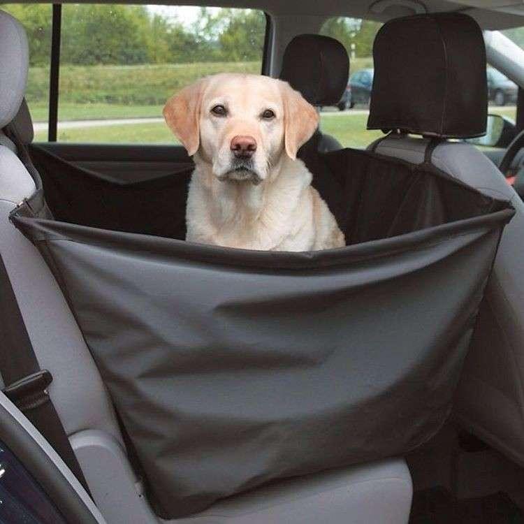 Trixie Car Seat Cover, black 4011905013480 kokemuksia
