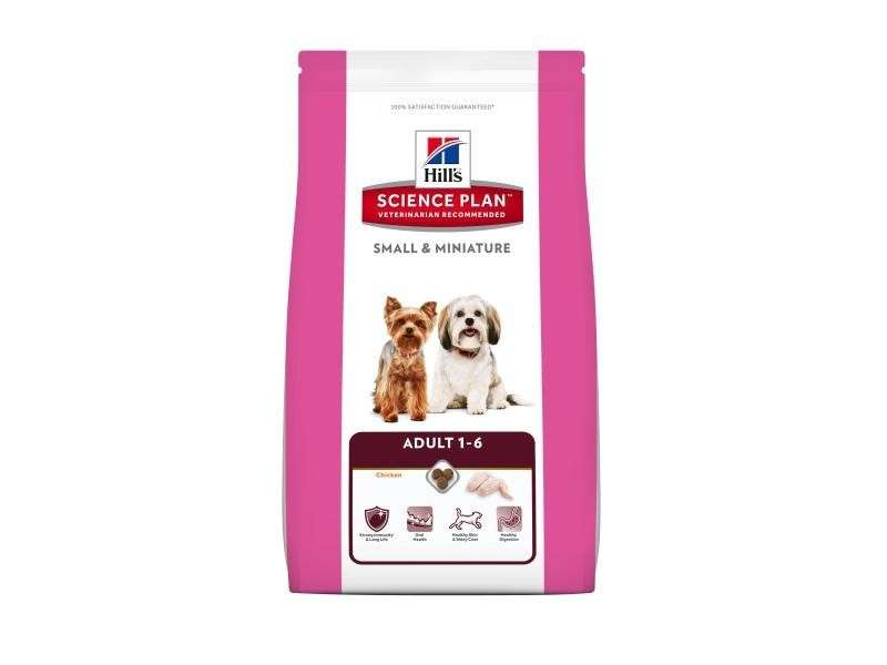 Hill's Science Plan Canine Adult Small & Miniature Kana ja Kalkkuna 3 kg
