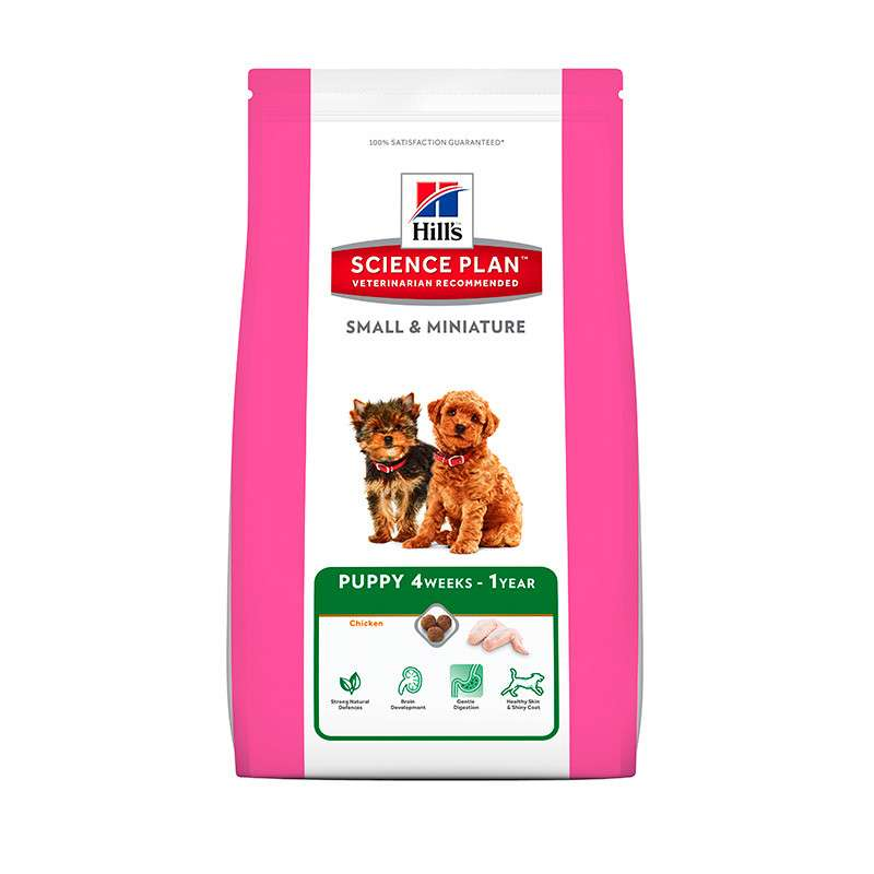 Hill's Science Plan Puppy Small & Miniature Kylling 1.5 kg, 3 kg, 300 g