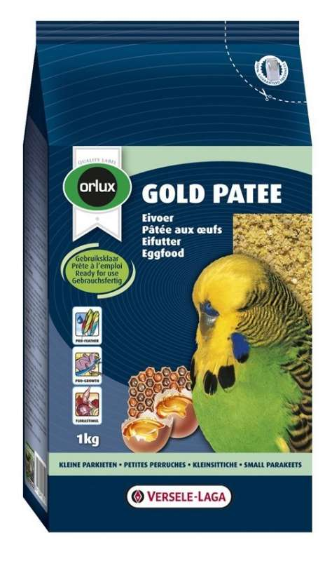 Versele Laga Orlux Gold Patee Small Parakeets 250 g, 1 kg