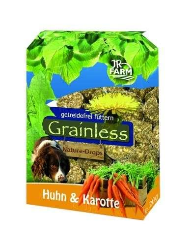 JR Farm Grainless Nature - Drops Huhn und Karotte für Hunde 30 g