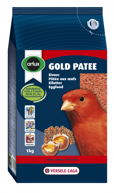 Versele Laga Orlux Gold Patee Canaries Red EAN: 5411204111112 reviews