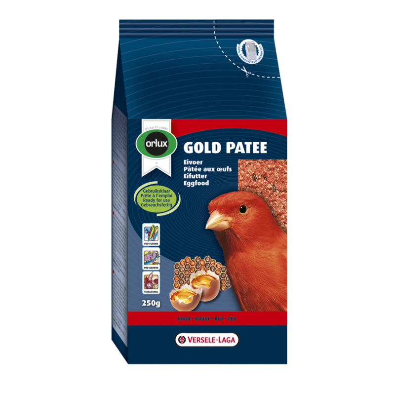 Versele Laga Orlux Gold Patee Canaries Red 250 g, 1 kg