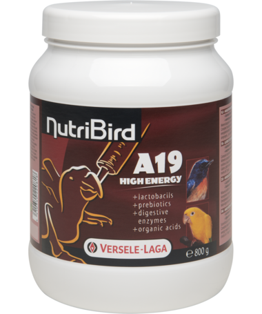 Versele Laga NutriBird A19 High Energy Baby-birds 800 g kjøp billig med rabatt