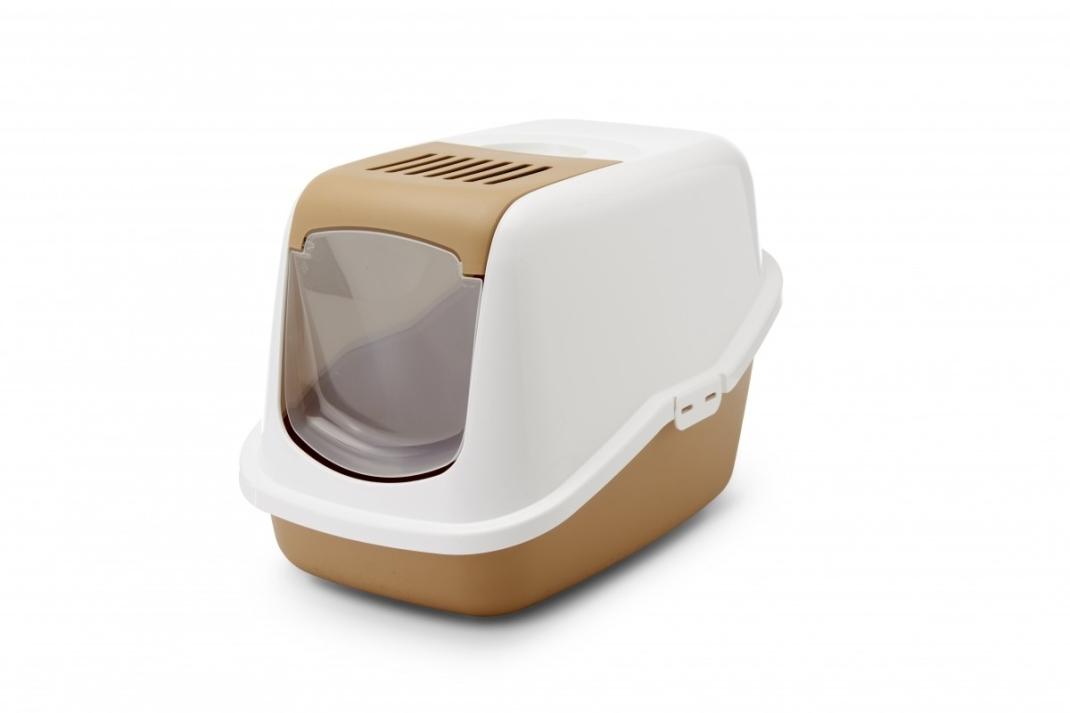 Savic Cat Litter Box - Nestor Retro  Ruskea