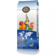 69 Large parakeets with sunflower seed 20 kg