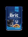 Brit Cat Pouches Chicken Chunks for Kitten 100 g