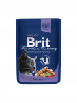 Brit Premium Cat Pouches med Torsk