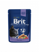 Brit Cat Pouches with Cod Fish 100 g