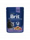 Brit Premium Cat Food with Cod Fish Weight 100 g order cheap