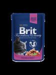Brit Premium Cat Pouches Lohta ja Taimenta 100 g