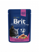 Brit Premium Cat Pouches with Salmon & Trout 100 g order online in uk