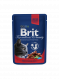Brit Premium Cat Pouches with Beef Stew & Peas EAN: 8595602505982 reviews