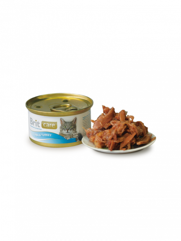 Brit Care Cat Tuna & Turkey 80 g