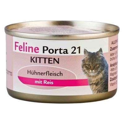 Feline Porta 21 Gatito-Pollo 90 g, 156 g