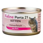 Feline Porta 21 Kitten Chicken & Rice 156 g