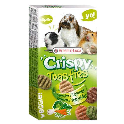 Versele Laga Crispy Toasties Groenten 150 g