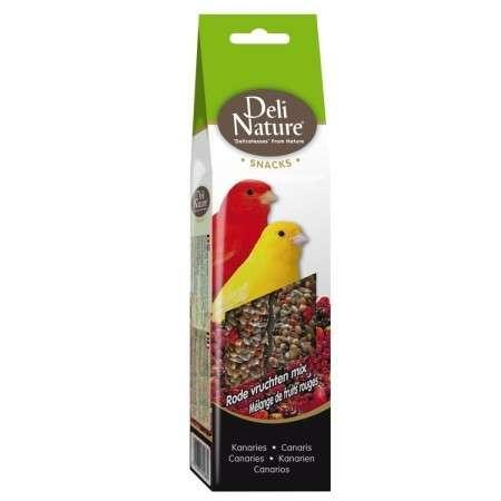 Deli Nature Canaries red fruit mix 60 g kjøp billig med rabatt