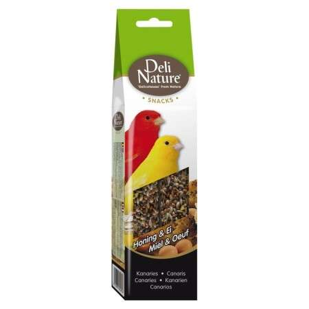 Deli Nature Canaries honey & egg 60 g kjøp billig med rabatt