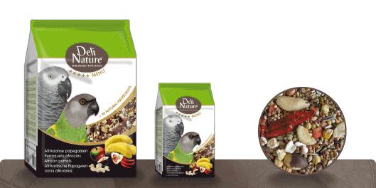 Deli Nature 5 Star menu - Papagaios africanos 5411860800603 opinião