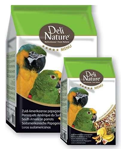 Deli Nature 5 Star menu - Papagaios da América do Sul 800 g, 2.5 kg Compre a bom preço com desconto