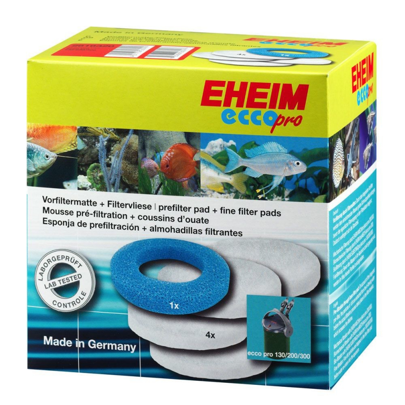 Eheim Fine/coarse filter pads fleece for ecco pro 130, 200 and 300 4011708260999 erfarenheter