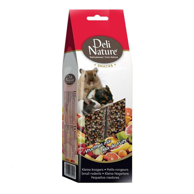 Deli Nature Small Rodents Fruit Mix 80 g kjøp billig med rabatt