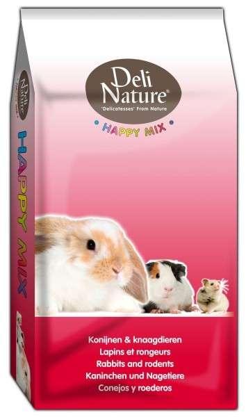Happymix - Zwergkaninchen von Deli Nature 15 kg online günstig kaufen