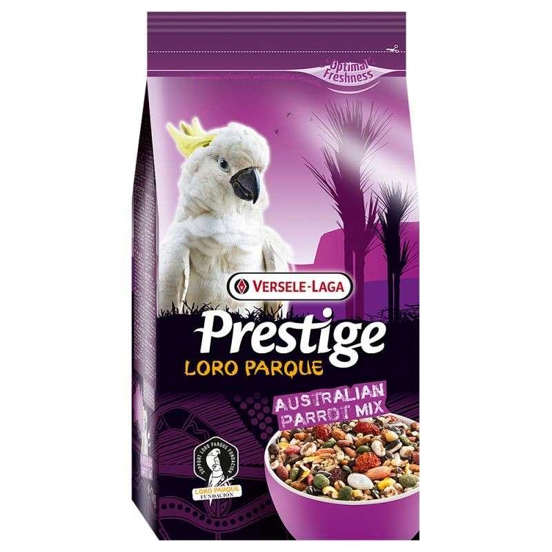 Versele Laga Prestige Australian Parrot Loro Parque Mix 15 kg, 1 kg kjøp billig med rabatt