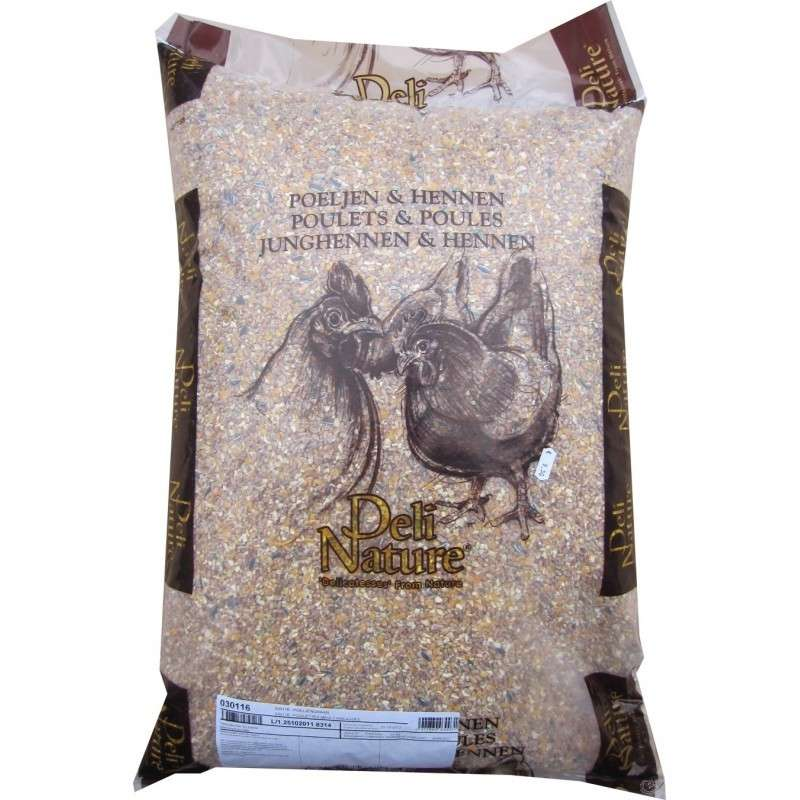 Deli Nature Chicken food with broken maize 25 kg köp billiga på nätet