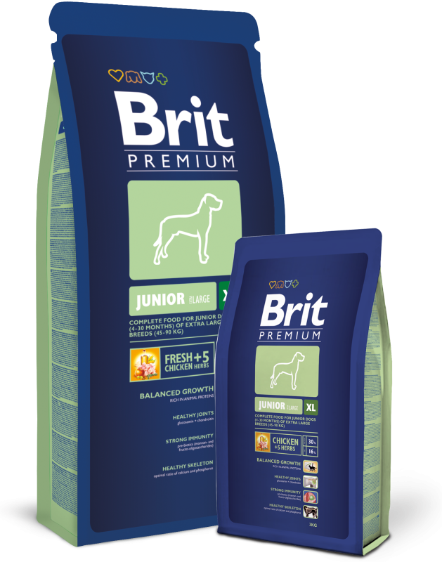 Brit PREMIUM JUNIOR XL 3 kg, 15 kg