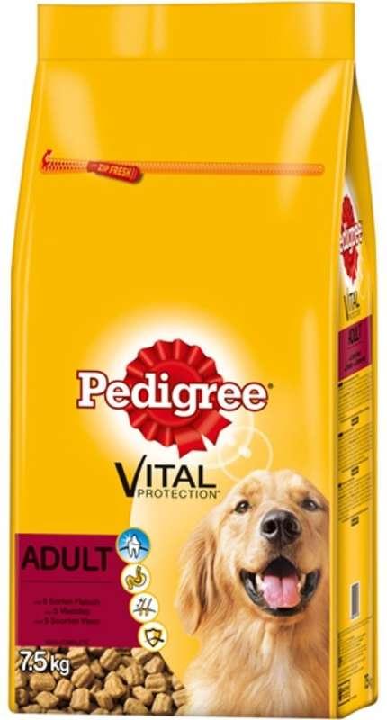 Pedigree Vital Protection Adult con 5 surtidos de carne 7.5 kg