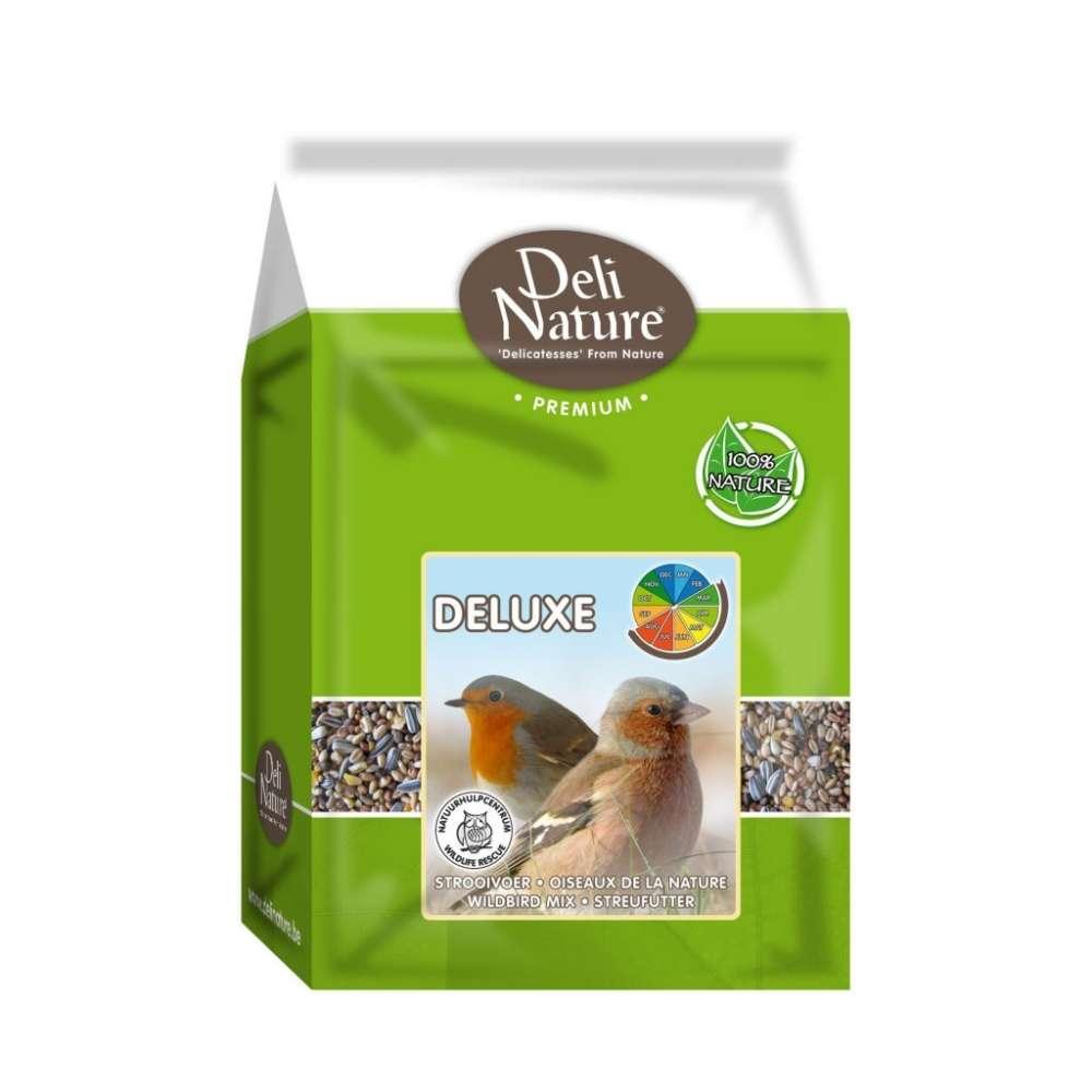 Deli Nature Wildbird Deluxe 4 kg  met korting aantrekkelijk en goedkoop kopen