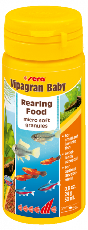 Sera Vipagran Baby 1.1 kg, 24 g, 48 g
