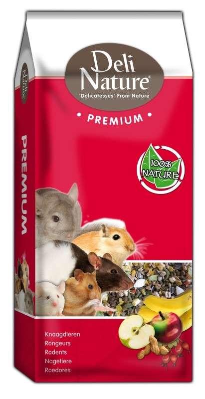 Deli Nature Premium - Small Rodents 15 kg, 750 g osta edullisesti