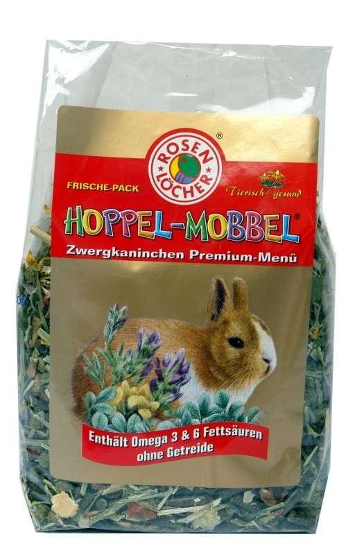 Zwergkaninchen Premium Menü von Rosenlöcher 500 g online günstig kaufen